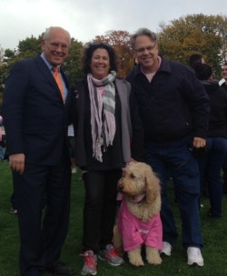 Thrilled to meet up with Rep. Paul Tonko at the Making Strides Breast Cancer Walk